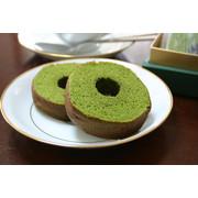 抹茶バームクーヘン【カットタイプ】5個入り(個別包装タイプ)