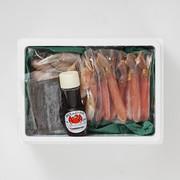 ずわいかにしゃぶセット 札幌蟹販株式会社 北海道 食べやすく殻をカットした脚と二本爪ポーションの詰め合せ。