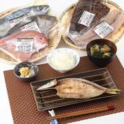 日本で唯一! 梅塩の干物&味醂干し(湯浅醤油使用)セット   魚義商店・和歌山県
