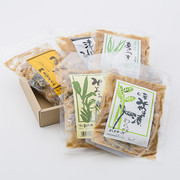 みやま漬けセット よしだや 新潟県 地元阿賀町産の獲れたて野菜や山菜を2種のコシヒカリ味噌に漬け込みました。