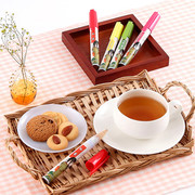 ペン型の携帯粉末容器入りのお茶 好きだっ茶