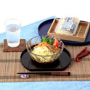 手軽に食べられる 細いちぢれ麺でつゆが絡みやすい〈冷し支那そば〉10セット | 株式会社叶屋食品・群馬県