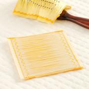 ブラシに付けて梳かすだけ シルクの力で髪つやに シルクヘアーブラシカバー | シルク工房GM・群馬県【送料無料】