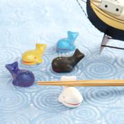 かわいい鯨の家族を食卓に 『くじらの箸置きセット』 | 抱壷庵・和歌山県