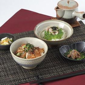 大人気商品!長崎で生まれた 牧島流鯵茶漬け・鯛の漬け丼