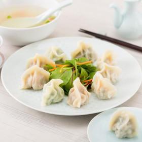 本場の味をそのままに。王さんの水餃子 神戸・南京町『上海餃子』 水餃子7種50個盛り合わせ
