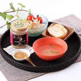 香り豊かな青森産にんにく100%使用! にんにくスープ〈中〉   株式会社昭仁・東京都