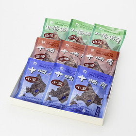 甘納豆3種セット 中ノ目製菓株式会社 北海道 北海道の大地で育った豆を使って、小樽の美味しい水で炊き上げた甘納豆