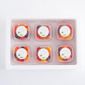 冷凍さくらんぼ ミックス軸なし〔160g×6〕
