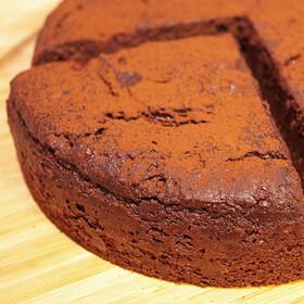 豆腐の濃厚チョコレートケーキ 精進スイーツ結び 宮城県 卵や乳製品不使用。アレルギーのお子様でも安心のマクロビケーキ