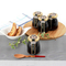 深煎り珈琲ゼリー6個セット 明陽食品工業有限会社・福島県 マイスター厳選の本格派!特選豆を丁寧なドリップで作り出す